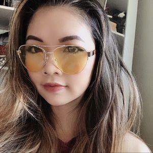 GUESS Women's Aviator Sunglasses